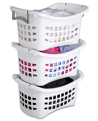 Laundry sorting ideas sterilite corporation