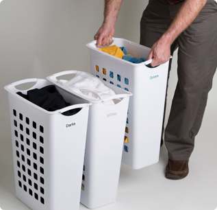 Stackable Laundry Baskets Canada Home Decorating Ideas