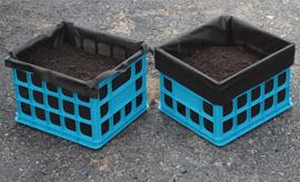 Crate gardening blog