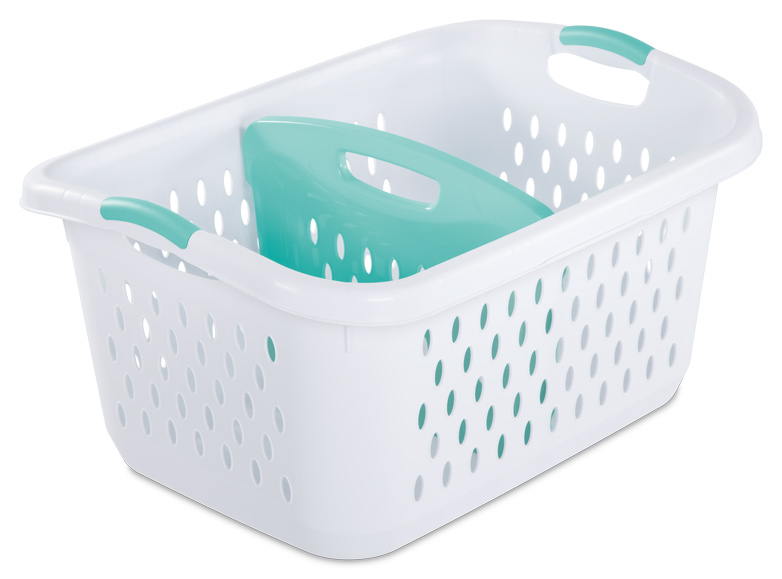 Divided - Some hampers come with three compartments so that you can sort your laundry as you fill the hamper. (Given my family, I find this a laughable idea, but you may find this a useful feature.) (Given my family, I find this a laughable idea, but you may find this a useful feature.).