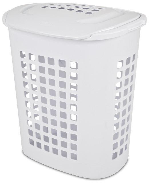 Sterilite 1221 2 3 Bushel Lift Top Laundry Hamper