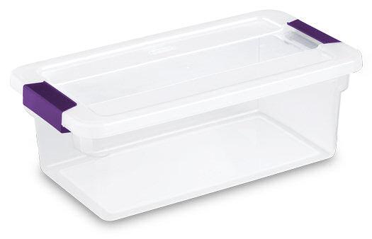 1751 - 6 Quart ClearView Latch™ Box  sc 1 st  Sterilite & Sterilite - 1751: 6 Quart ClearView Latch™ Box