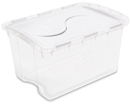 1914 - 48 Quart Hinged Lid Storage Box ...  sc 1 st  Sterilite & Sterilite - 1914: 48 Quart Hinged Lid Storage Box