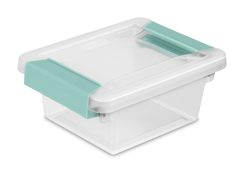 Zoom. Colors Available Clear  sc 1 st  Sterilite & Sterilite - 1969: Mini Clip Box