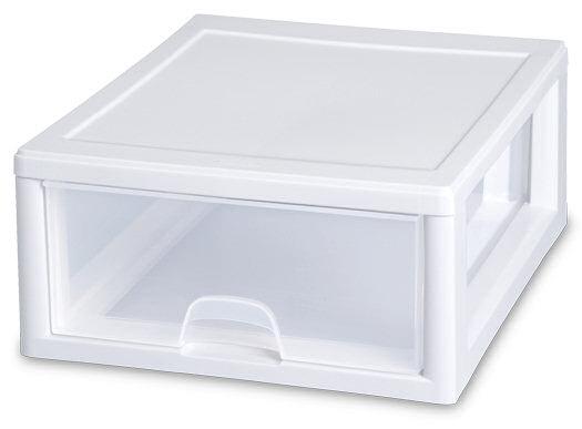 Sterilite 2301 16 Quart Stacking Drawer