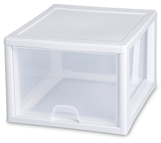 2310 - 27 Quart Stacking Drawer ...  sc 1 st  Sterilite & Sterilite - 2310: 27 Quart Stacking Drawer