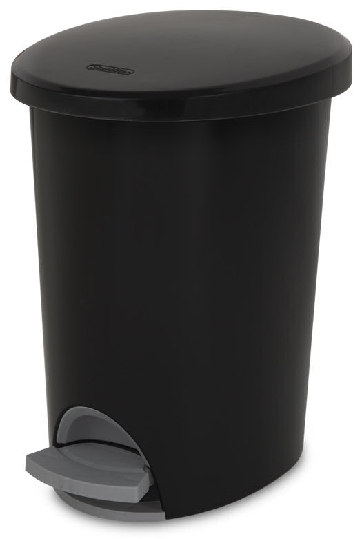 Sterilite 1081 2 6 Gallon Ultra Stepon Wastebasket