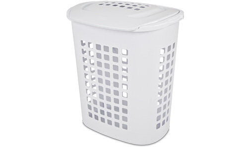 Sterilite 1221 2 3 Bushel Lift Top Laundry Hamper