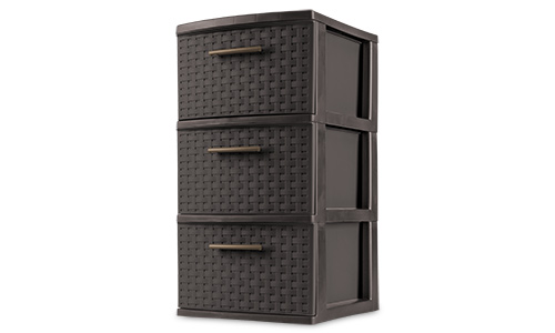 2630   3 Drawer Weave Tower
