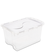 48 Quart Hinged Lid Storage Box
