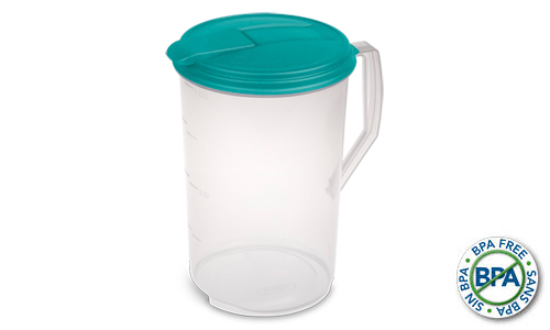 0488 - 1 Gallon Round Pitcher