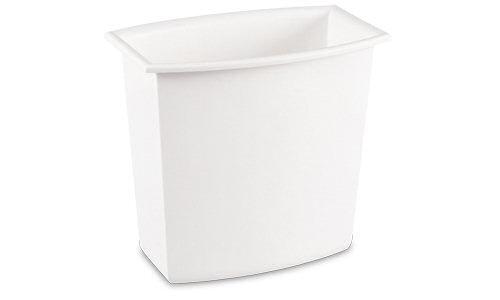 1022 - 2 Gallon Rectangular Vanity Wastebasket