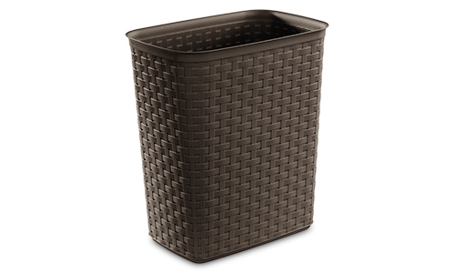 1038 - 5.8 Gallon Weave Wastebasket