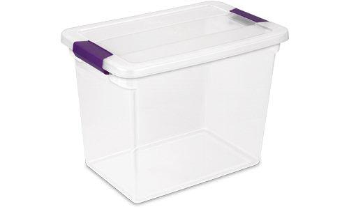 1763 - 27 Quart ClearView Latch™ Box