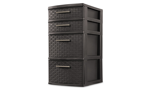 2622 - 4 Drawer Weave Tower