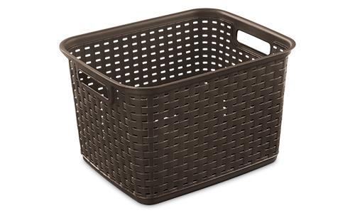 1273 - Tall Weave Basket