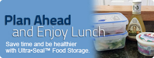 Save time and be healthier with food storage