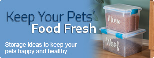 Keep Your Pets' Food Fresh