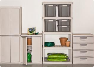Get Your Garage Into Shape Sterilite, Sterilite Garage Storage Cabinets