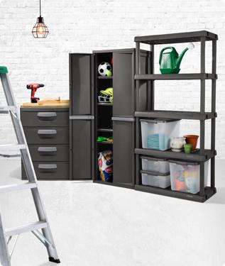 Shed The Clutter Sterilite Corporation, Sterilite Garage Storage Cabinets
