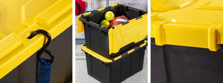 5.5 gallon rectangular wastebasket