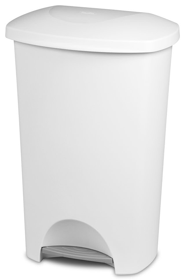 1096 11 Gallon Stepon Wastebasket Zoom