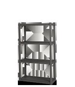 4 Shelf Shelving Unit