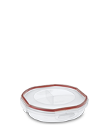 Ultra•Seal™ 4.8 Cup Round Divided Dish