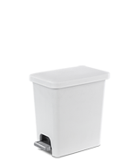 2.7 Gallon Rectangular StepOn Wastebasket