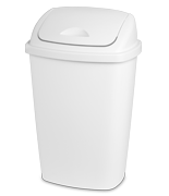 13.2 Gallon SwingTop Wastebasket