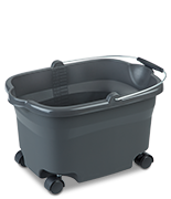 20 Quart Wheeled Bucket