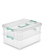 Stack & Carry 2 Layer Handle Box