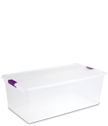 110 Quart ClearView Latch™ Box