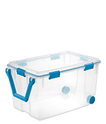 120 Qt. Wheeled Gasket Box