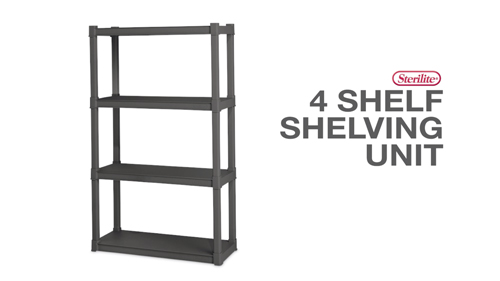 4 Shelf Shelving Unit