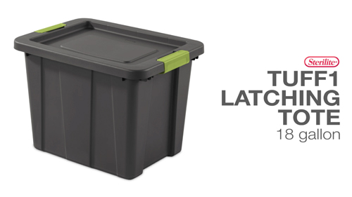 18 Gallon Latching Tuff1 Tote