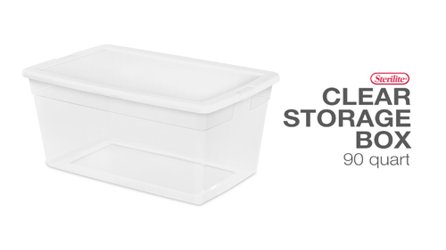 90 Quart Storage Box