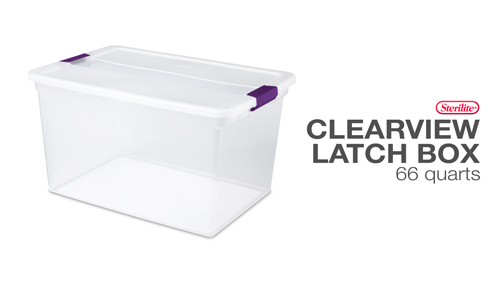 1757 - ClearView Latch™ Boxes