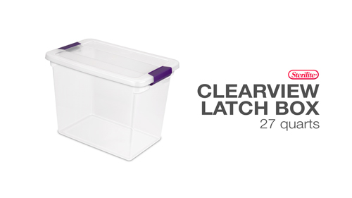 1763 - ClearView Latch™ Boxes