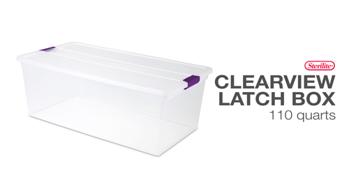 1764 - ClearView Latch™ Boxes