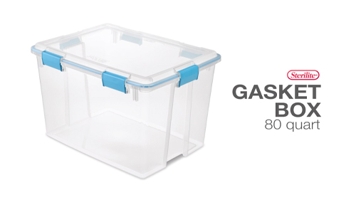 80 Quart Gasket Box