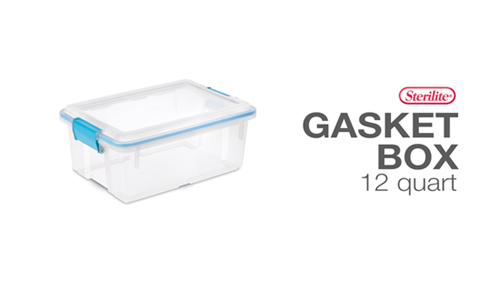 12 Quart Gasket Box